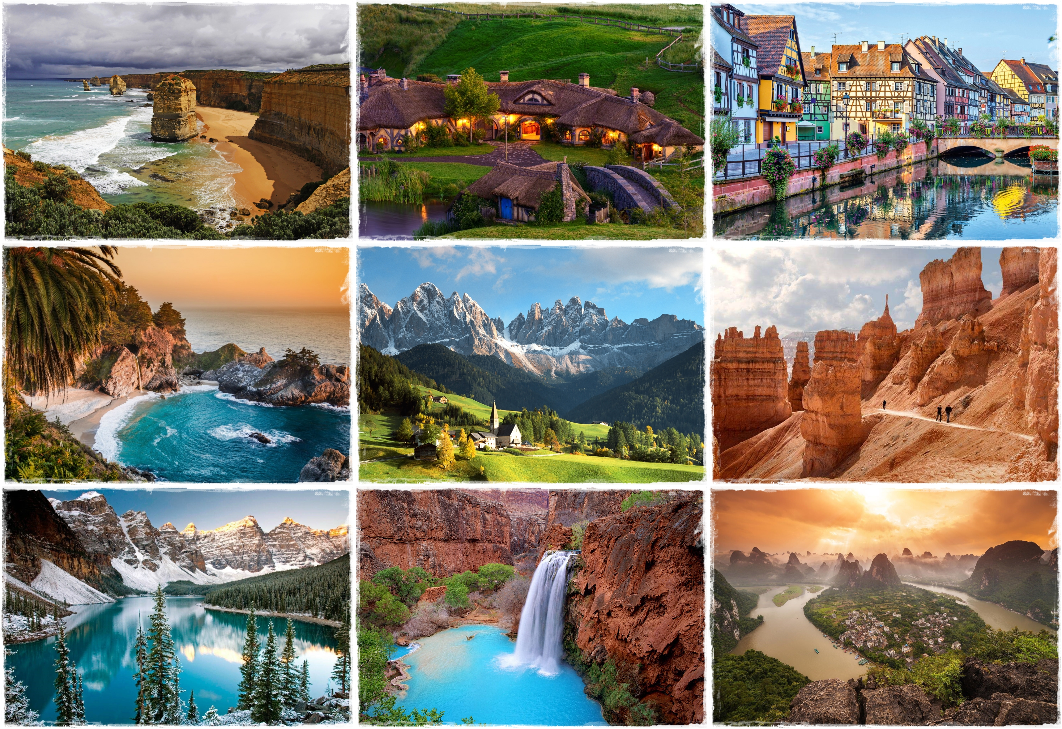 Top 10 most beautiful places on earth The most beautiful places on earth to visit