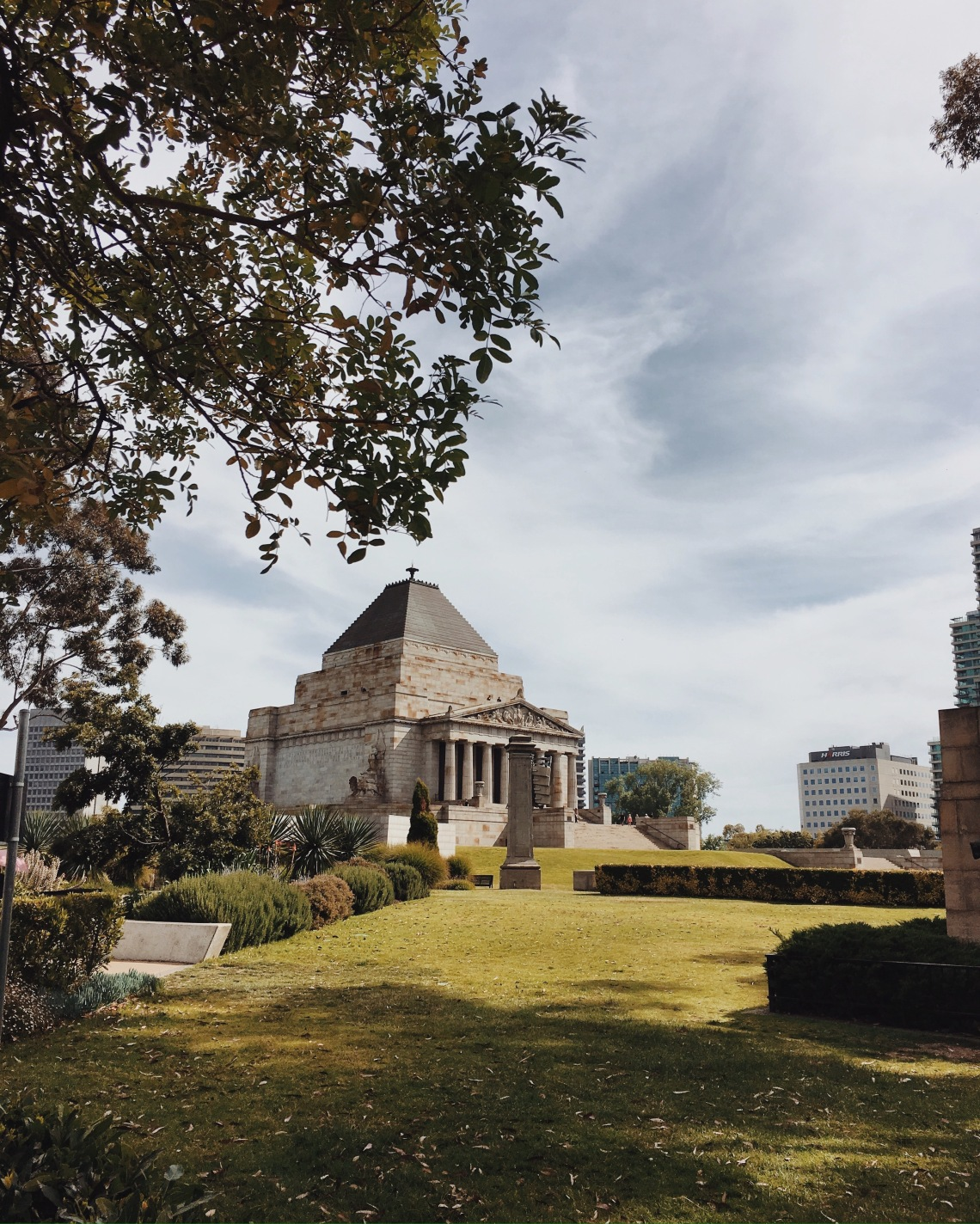 Shrine of Remembrance, one of Melbourne's landmarks