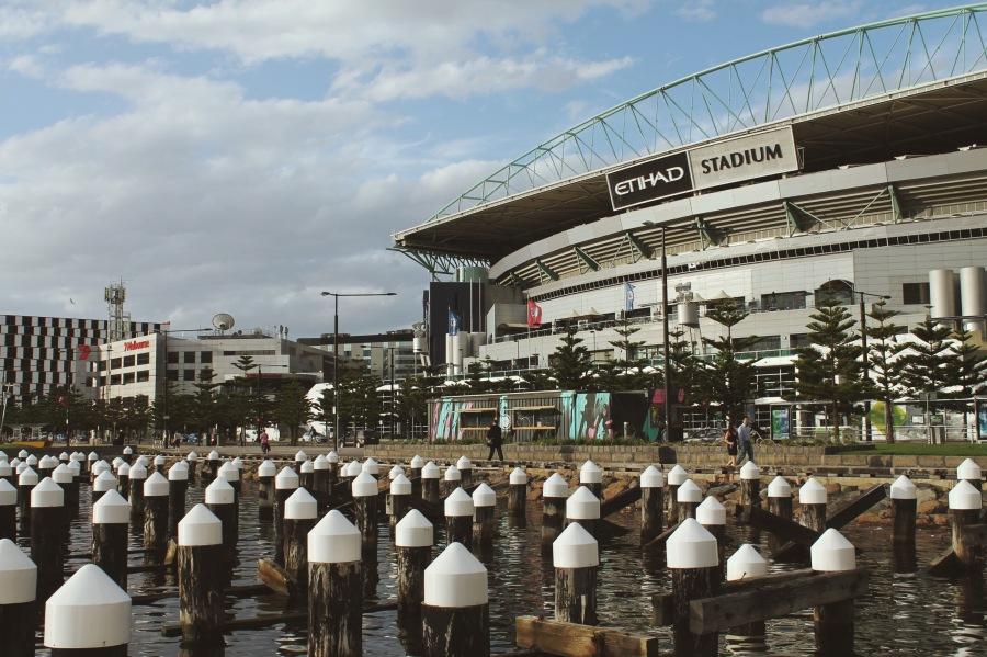 Etihad Stadium, Docklands Melbourne Australia