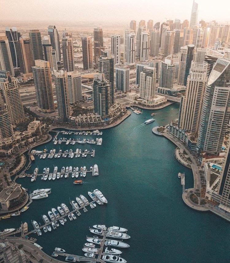 Dubai Marina, UAE @doyoutravel www.selfwanderer.com