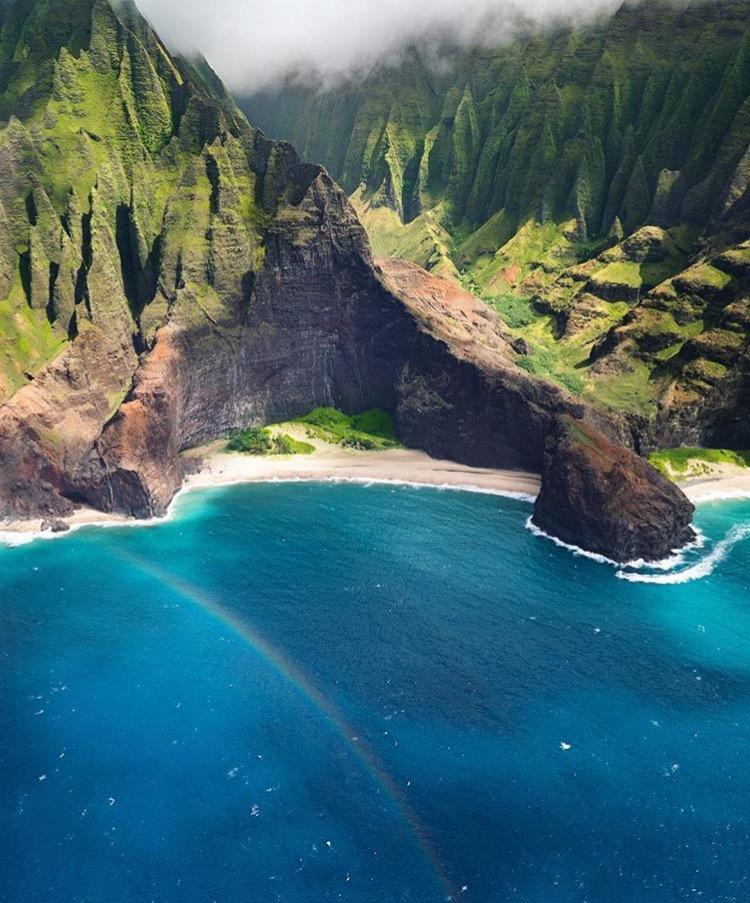 Nā Pali Coast State Park, Hawaii - @marchromano www.selfwanderer.com