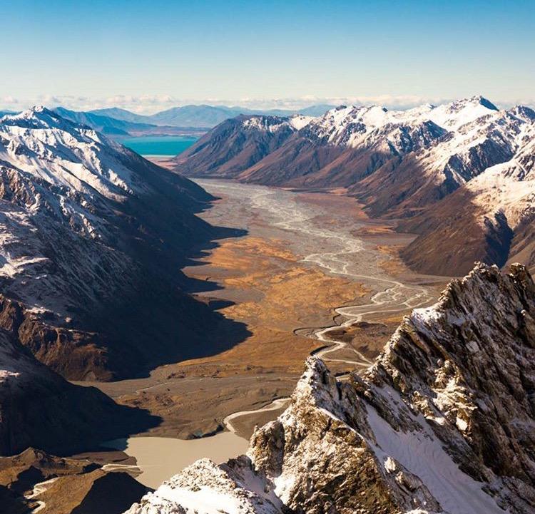 Southern Alps, New Zealand - @aaronjenkin www.selfwanderer.com