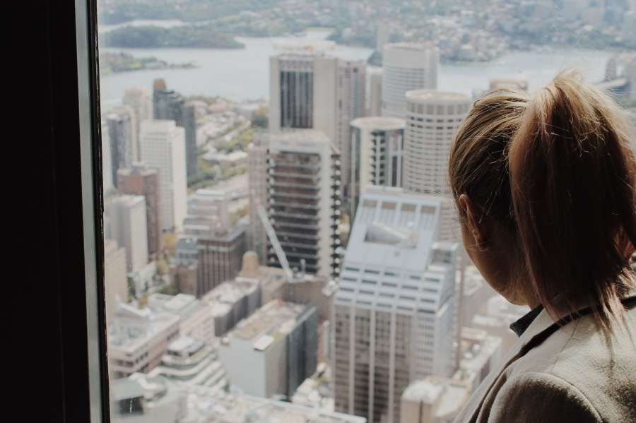 View from Westfield Tower, Sydney Australia