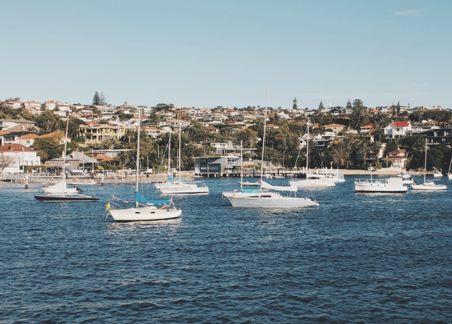 Ferry towards Watson Bay, Sydney Australia