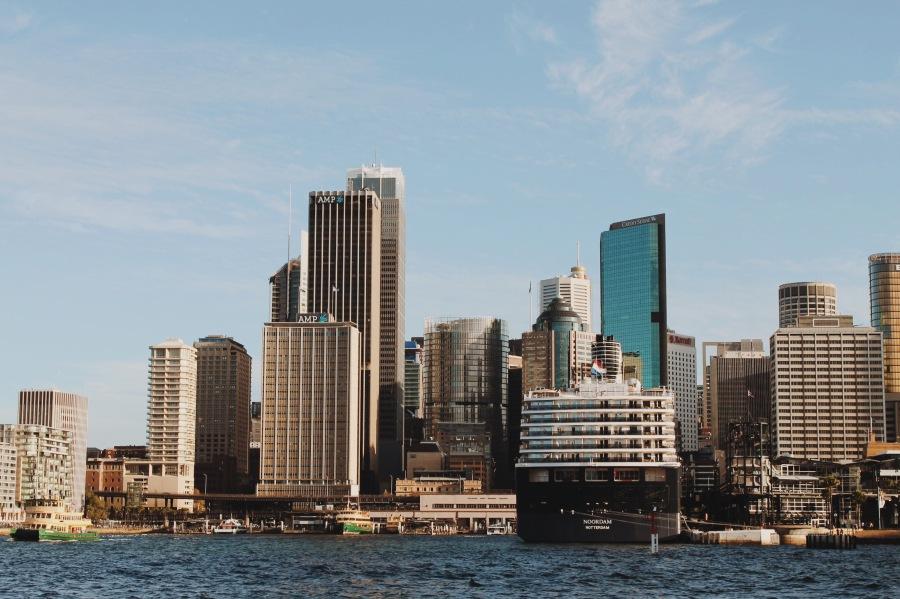 Circular Quay and CBD, Sydney Australia