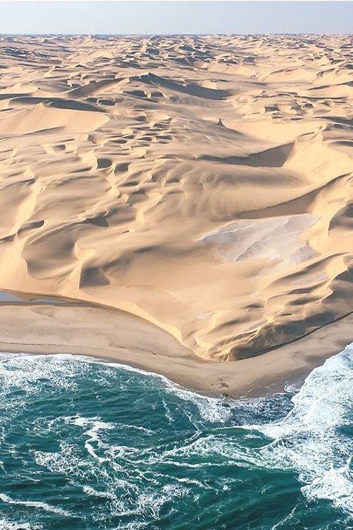 Namib Desert - Where the desert meets the ocean