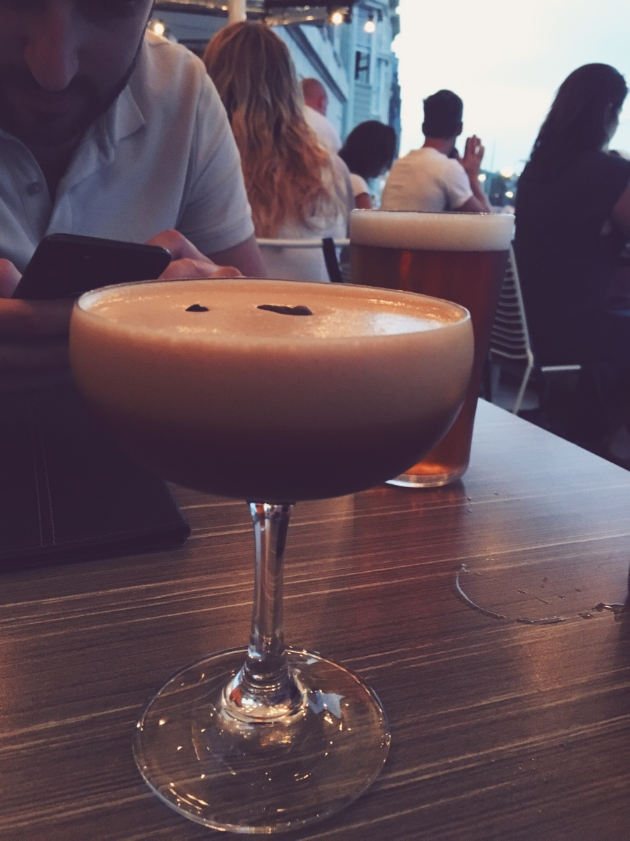 Espresso Martini at Vue Bar, Bondi Beach