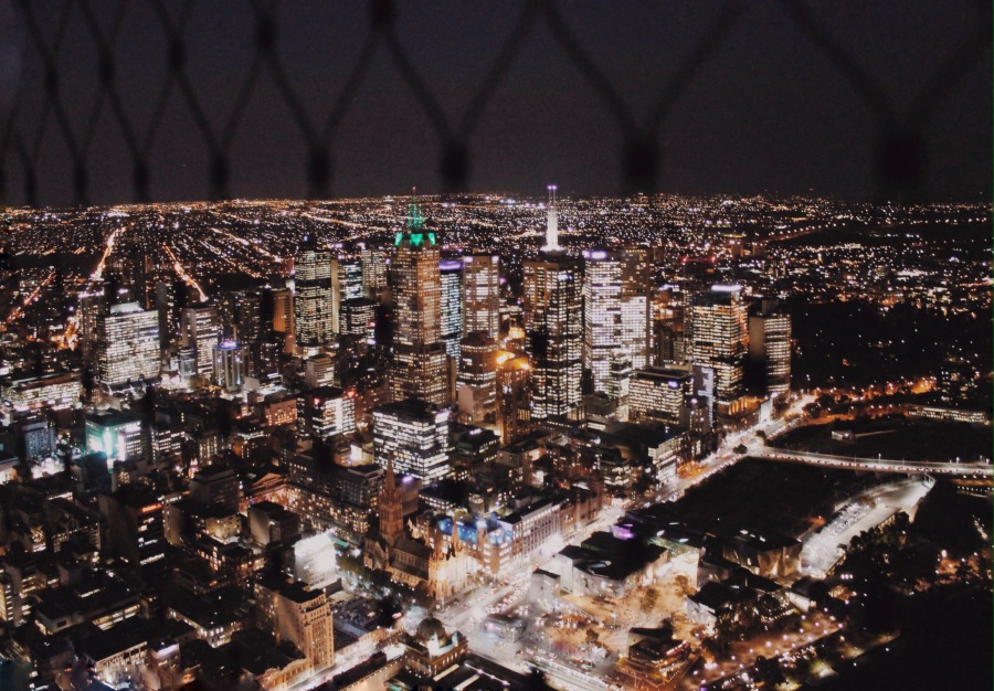 View from Eureka Tower, Melbourne