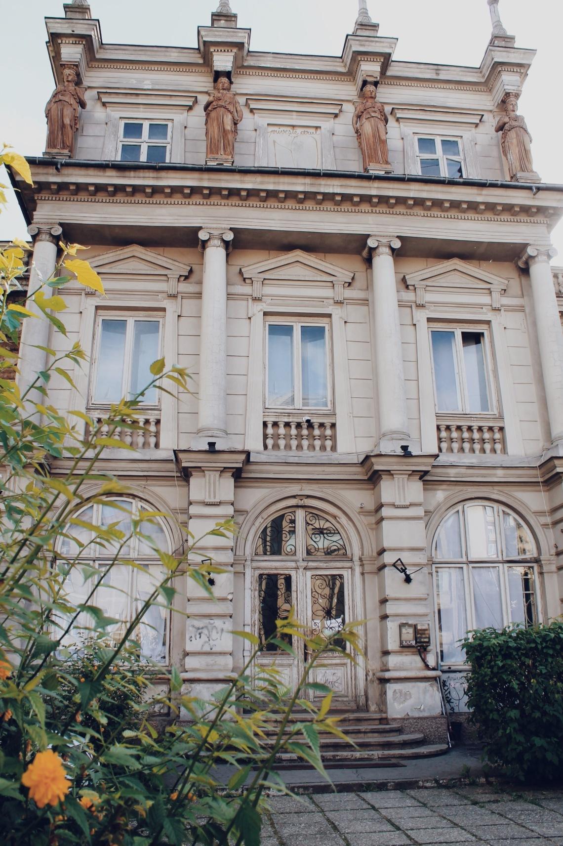 Stirbei Palace on Victoriei Street (Calea Victoriei), Bucharest Romania