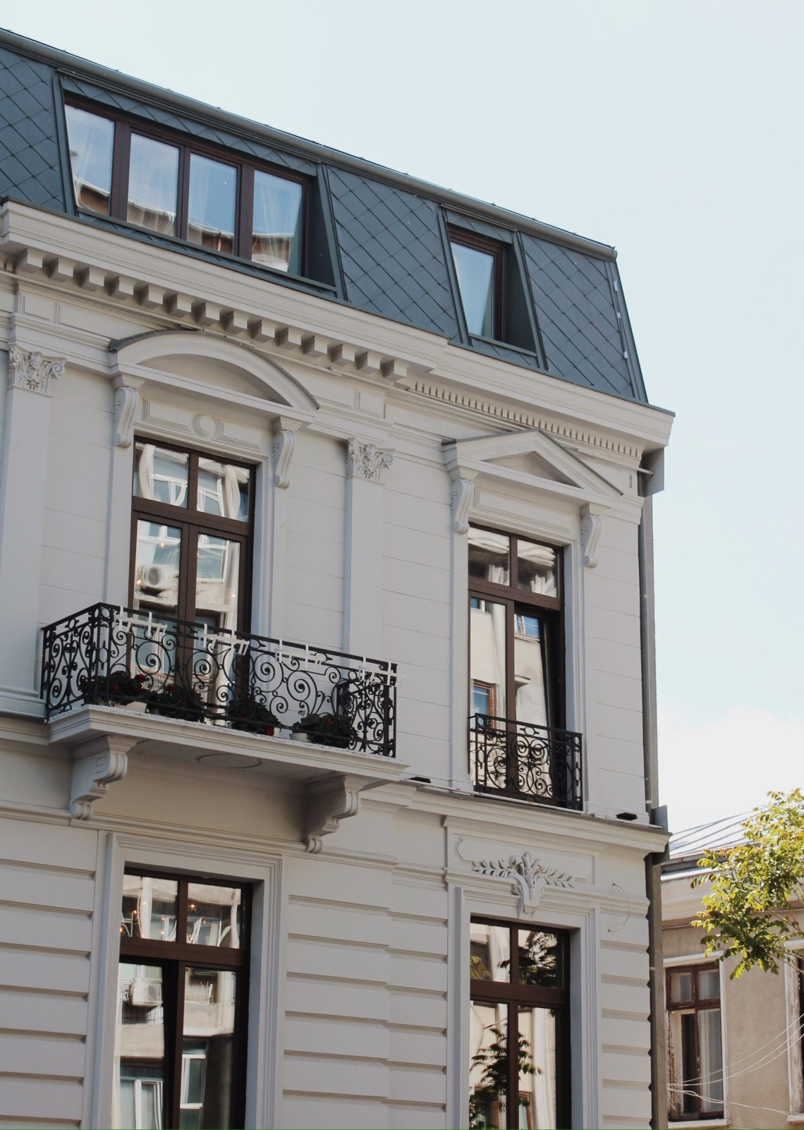 Victoriei Street (Calea Victoriei), Bucharest Romania