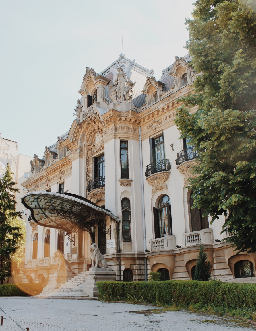 George Enescu National Museum (Cantacuzino Palace), Bucharest Romania