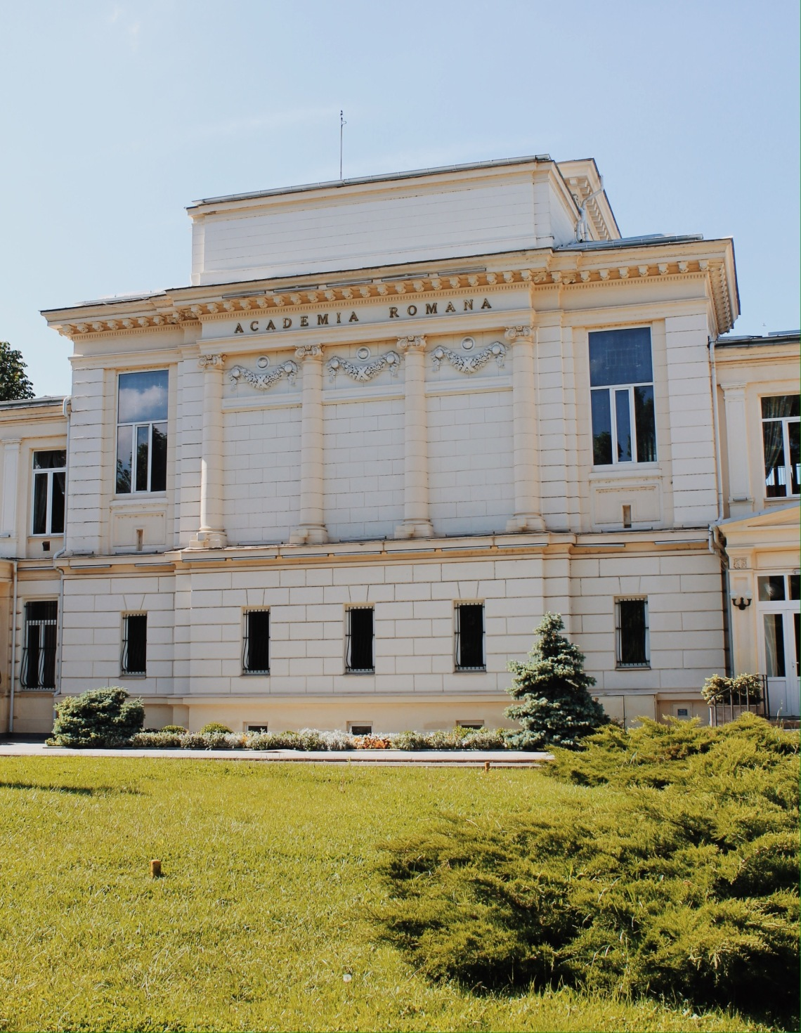Romanian Academy, Victoriei Street (Calea Victoriei), Bucharest Romania