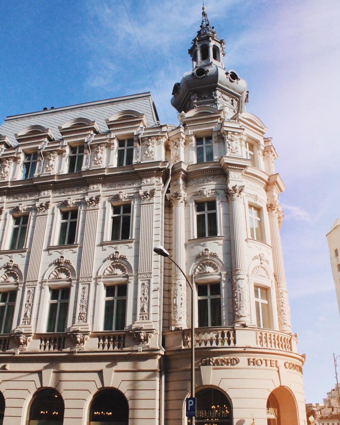 Grand Hotel Continental, Victoriei Street, Bucharest Romania