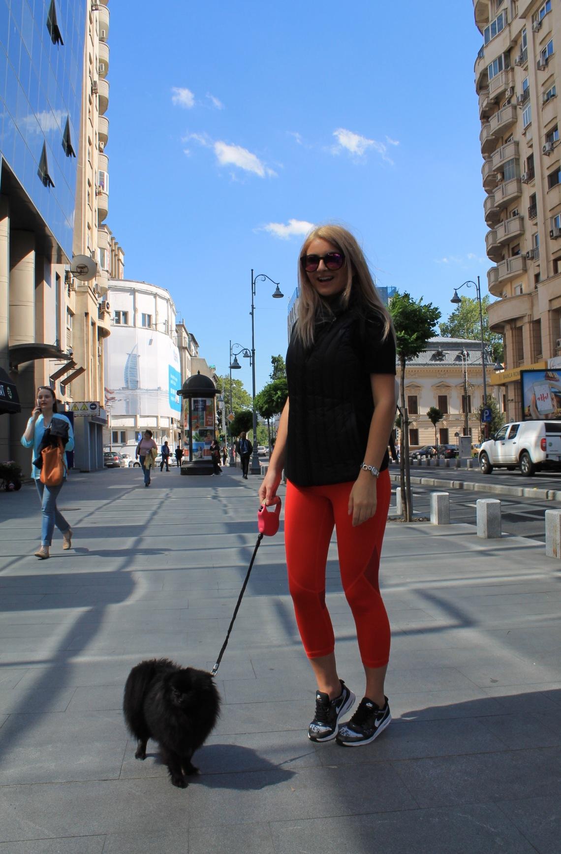 AZUROO Activewear in Bucharest @azurooactive