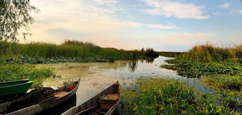 Danube Delta Romania Source: ghidularadean.ro