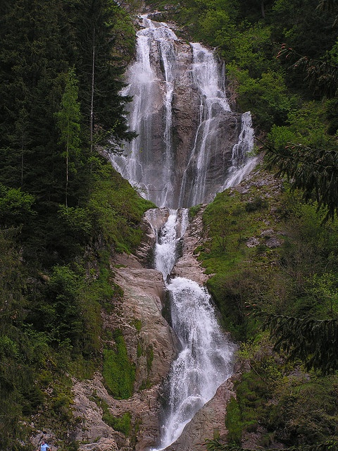 Horses Waterfall - Cascada Cailor Romania