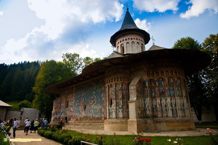 Voronet Monastery, Bucovina, Romania