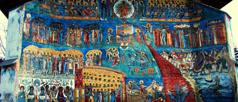 Voronet Monastery Moldova, Romania