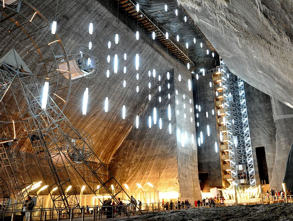 Turda Salt Mine, Romania