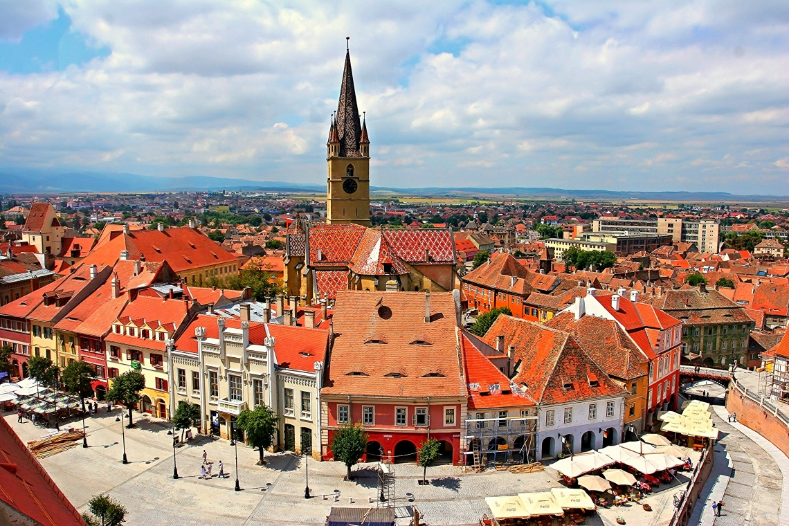 Sibiu Historical Centre, Romania