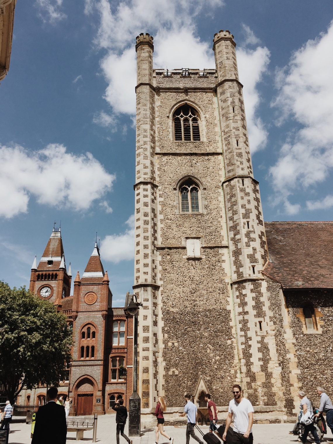 Saint Laurence Church, Reading UK