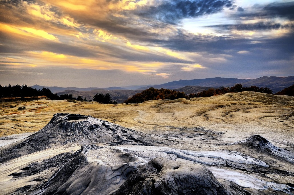 The Mud Volcanoes, Buzau Romania