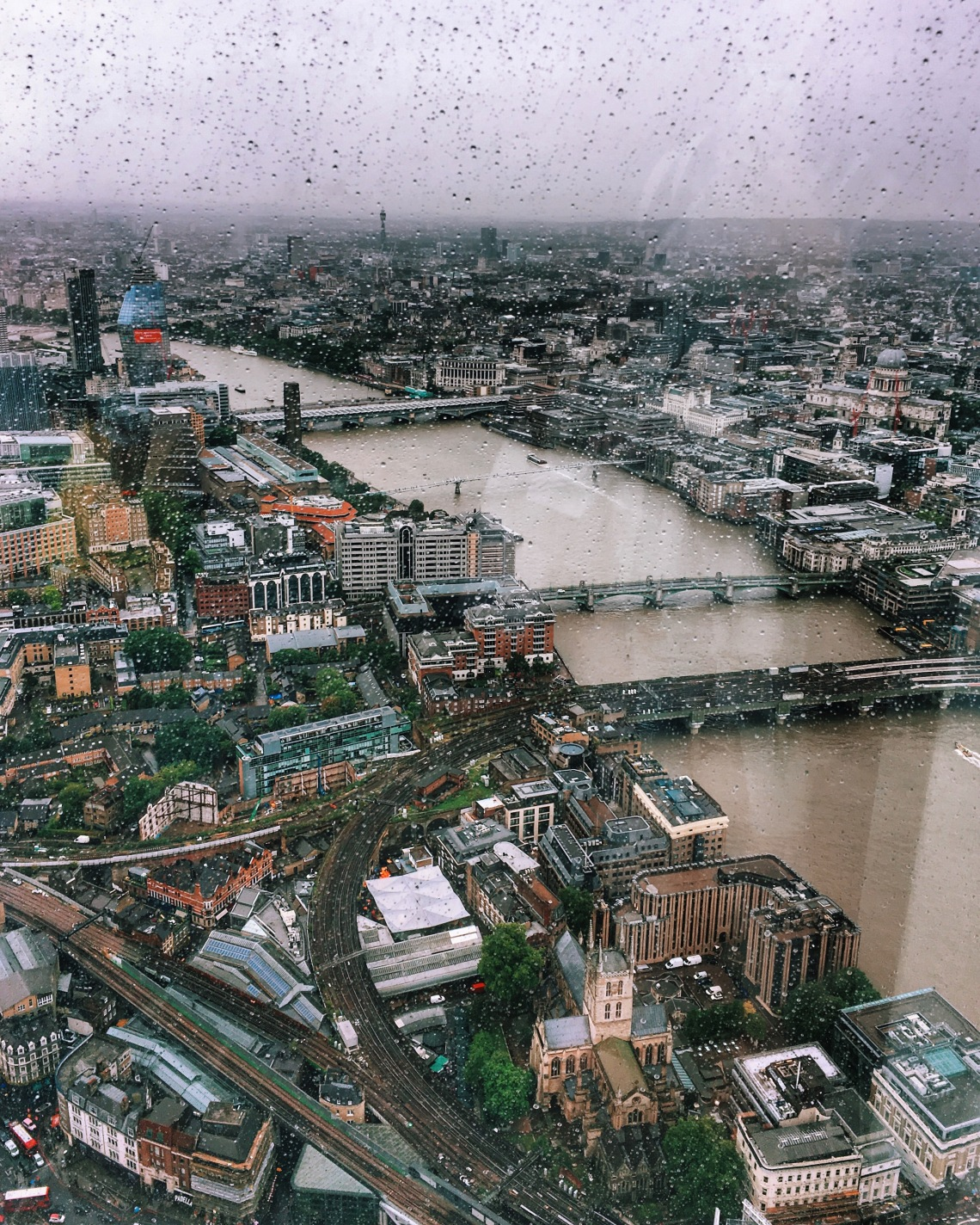 View from the Shard, London UK