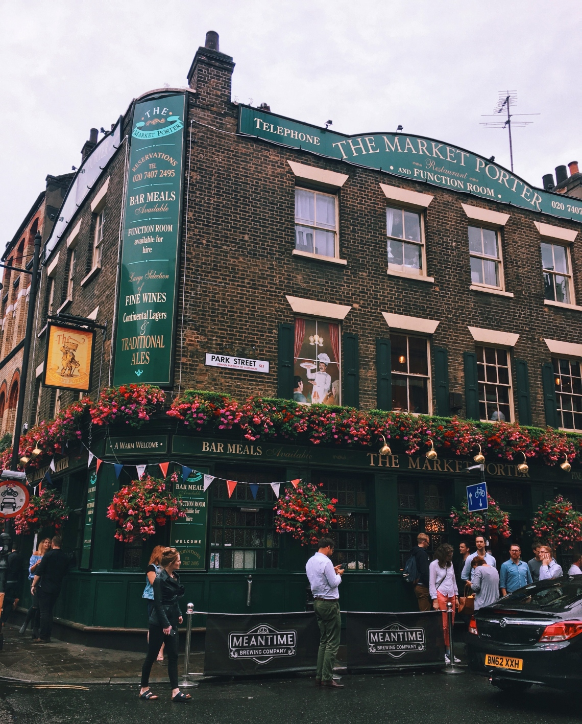 Borough Market, London UK